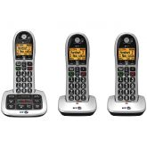 Bt BT4600TRIO Big Button Telephone Triple Pack With Answerphone