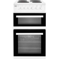 Beko EDP503W Electric Double Oven With Grill