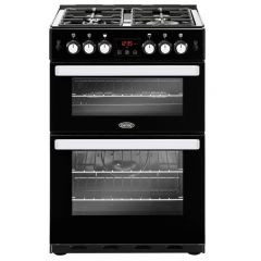 Belling COOKCENTRE60GBLK Cookcentre Gas Cooker In Black
