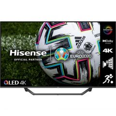 Hisense 65A7GQTUK 65` QLED 4K UHD HDR SMART TV with HDR10+ Dolby Vision™ Dolby Atmos® and Alexa +