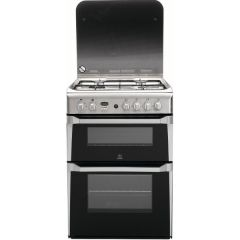 Indesit ID60G2X 60Cm Gas Cooker In St/Steel