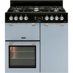 Leisure CK90F232B 90cm dual fuel Leisure Cookmaster,blue