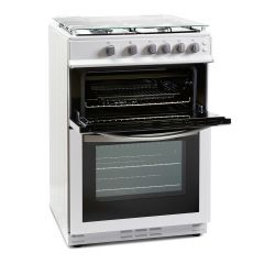 Montpellier MDG600LW Gas Cooker Frestanding 600Mm Wide Double Oven