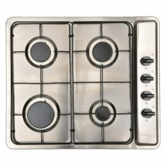 Montpellier MGB60X Gas Hob With Enamel Pan Supports