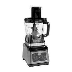 Ninja BN800UK 3 in 1 Blender and Food Processor with Auto IQ Black/Silver