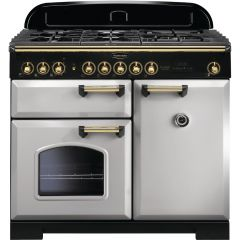 Rangemaster CDL100DFFRP/B 114780 CLASSIC DL 100 DF ROYAL PEARL BRASS