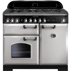 Rangemaster CDL100DFFRP/C 100630 CLASSIC DL 100 DF ROYAL PEARL CHROME
