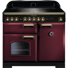 Rangemaster CDL100EICY/B 115590 CLASSIC DL 100 IND. CRANBERRY BRASS