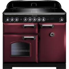 Rangemaster CDL100EICY/C 95940 CLASSIC DL 100 IND. CRANBERRY CHROME