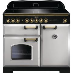 Rangemaster CDL100EIRP/B 114840 CLASSIC DL 100 IND. ROYAL PEARL BRASS