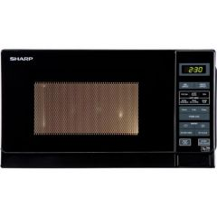 Sharp R272KM Sharp 20 Litre Solo Microwave - Black