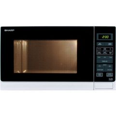 Sharp R372WM 25 Litre 900 Watt Microwave In White