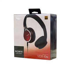MDR10RCR On Ear Headphones In Red
