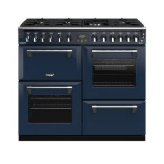 Stoves ST RICH DX S1000DF CB Mbl Colour Boutique Richmond Range Cooker