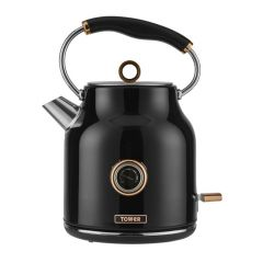 Tower T10020 Jug Kettle Blck And Rose Gold