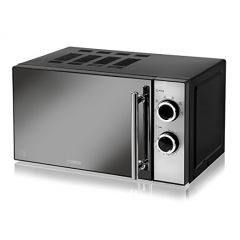 Tower T24015 Solo Microwave 800 Watt 20 Litre Mirrored