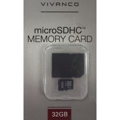 Vivanco 34820 32Gb Microsd Inc. Adapter Class 10