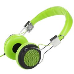 Vivanco 34879 Green Street Style X-Bass Headphones