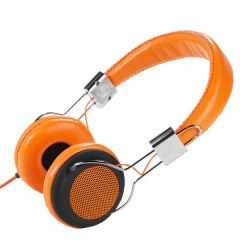 Vivanco 34882 Orange Street Style Headphones